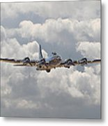 Memphis Belle - Homecoming Metal Print