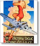 Memphis Belle Poster Metal Print