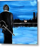 Memphis Dream With B B King Metal Print