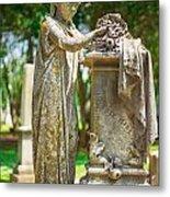 Memphis Elmwood Cemetery Monument - Cassie Hill Metal Print