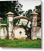 Memphis Elmwood Cemetery - Ayres Family Vault Metal Print