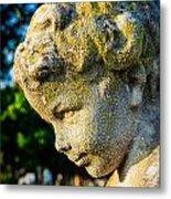 Memphis Elmwood Cemetery - Boy Angel Vertical Metal Print