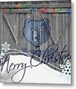Memphis Grizzlies Metal Print by Joe Hamilton