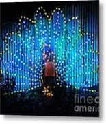 Memphis Zoo Lights Metal Print