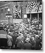 Men At 1912 Republican National Convention Metal Print