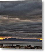 Menacing Skies Metal Print