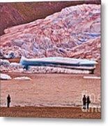 Mendenhall Glacier Juneau 2 Metal Print