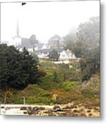 Mendocino Ca Church Metal Print