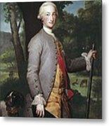 Mengs, Anton Raphael 1728-1779. Charles Metal Print