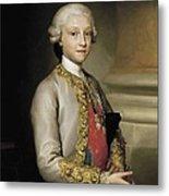 Mengs, Anton Raphael 1728-1779. Infante Metal Print by Everett