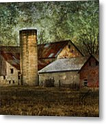 Mennonite Farm In Tennessee Usa Metal Print by Kathy Clark