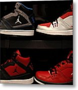 Men's Sports Shoes - 5d20653 Metal Print by Wingsdomain Art and Photography