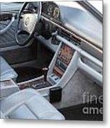 Mercedes 560 Sec Interior Metal Print