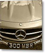 Mercedes Benz 300 Sl Roadster 1957 Metal Print