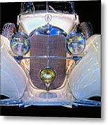 Mercedes Benz Cabriolet 540k Metal Print
