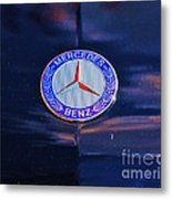 Mercedes Benz Logo Metal Print