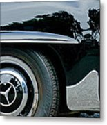 Mercedes-benz Wheel Emblem Metal Print
