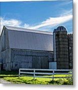 Mercer County Barn Metal Print