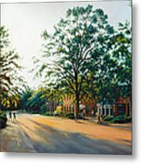 Merchants Square In The Late Afternoon Metal Print