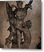 Mercury Carrying Eurydice To The Underworld Metal Print