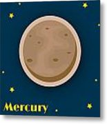 Mercury Metal Print by Christy Beckwith