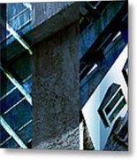 Merged - Tower Blues Metal Print by Jon Berry OsoPorto
