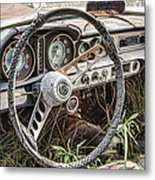 Merging With Nature Metal Print