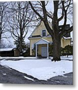 Merion Meeting House - Narberth Pa Metal Print by Bill Cannon