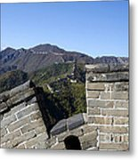 Merlon View From The Great Wall 726 Metal Print