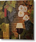 Merlot For The Love Of Wine Metal Print