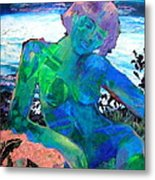 Mermaid Metal Print by Diane Fine
