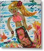 Mermaid Mermaid Metal Print
