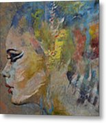 Mermaid Metal Print by Michael Creese