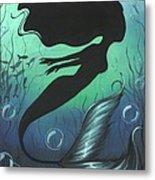 Mermaid Of The Deep Sea Metal Print