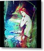 Mermaid Of The Tides Metal Print