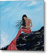 Mermaids Timeless Tales Metal Print