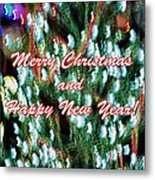 Merry Christmas 2 Metal Print by Skip Nall