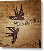 Merry Christmas 3 Metal Print