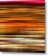 Merry Go Round Abstract Metal Print