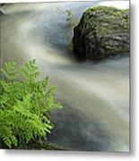 Mersey River Nova Scotia Canada Metal Print