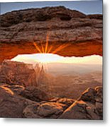 Mesa Arch Morning Metal Print by Andrew Soundarajan