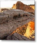 Mesa Arch Sunrise 6 - Canyonlands National Park - Moab Utah Metal Print