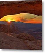 Mesa Arch Sunrise Metal Print