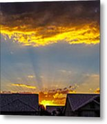 Mesa Sunset Metal Print