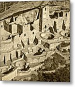 Mesa Verde National Park In Colorado Metal Print