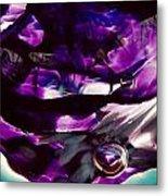 Mesmerize Purple II Metal Print