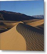 Mesquite Dunes Death Valley 1 Metal Print