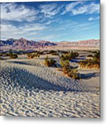 Mesquite Flat Dunes Metal Print