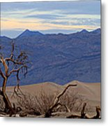 Mesquite Flat Sand Dunes Stovepipe Wells Death Valley Metal Print