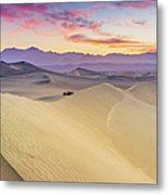 Mesquite Flat Sand Dunes Metal Print